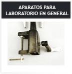 Aparatos para laboratorio en general